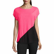 Xersion Short Sleeve Crew Neck T-Shirt-Talls