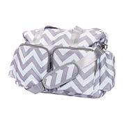 Trend Lab® Chevron Deluxe Duffel Diaper Bag