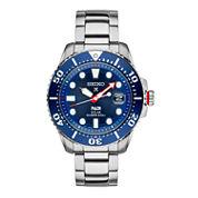 Seiko Mens Silver Tone Bracelet Watch-Sne435