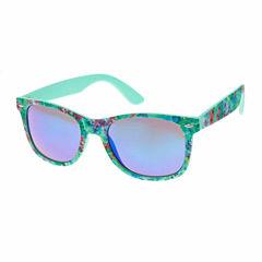 Arizona Retro Rectangle Rectangular UV Protection Sunglasses