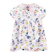 Baby B'gosh® Cap-Sleeve Floral Dress - Baby Girls newborn-24m