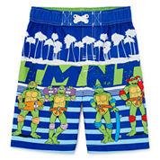 Teenage Mutant Ninja Turtles Swim Trunks - Toddler Boys 2t-5t