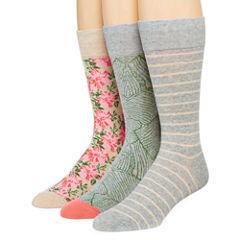 Stafford® Mens 3-pk. Cotton-Rich Crew Socks - Big & Tall
