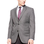 Izod® Gray Windowpane Sport Coat - Classic Fit