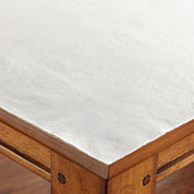 Solid White Protector Table Pad