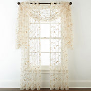 Royal Velvet® Plaza Embroidery Sheer Window Treatments