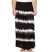 a.n.a® Wide-Waistband Maxi Skirt - Plus