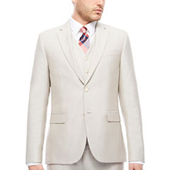 J.Ferrar Bone Shimmer Jacket-Slim Fit