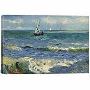 Icanvas Seascape Near Saintes-Maries-De-La-Mer Canvas Art