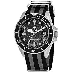 Christian Van Sant Mens Multicolor Strap Watch-Cv5100nbb