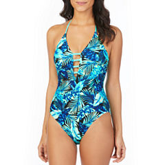 Ambrielle Leaf One Piece Swimsuit