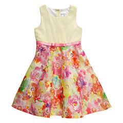 Young Land Sleeveless Skater Dress - Preschool Girls