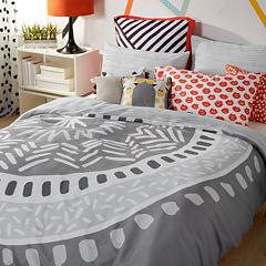 Scribble Medallion Comforter Set
