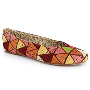 Just Dolce By Mojo Moxy Azlan Womens Ballet Flats
