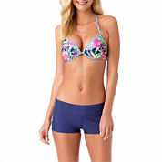 Arizona Floral Bra Swimsuit Top or Boyshorts-Juniors