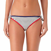 Arizona Stripe Hipster Swimsuit Bottom-Juniors