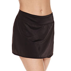 Pure Paradise Solid Swim Skirt