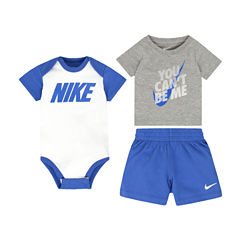 Nike 2-pc. Short Set Baby Boys
