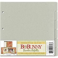 Bo Bunny 3-Ring Bare Naked Binder Refills