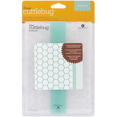 Cuttlebug Embossing Folder/Border Set - Honeycomb