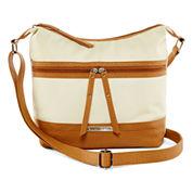 Rosetti®  Yolonda Two-Tone Mid-Crossbody Bag