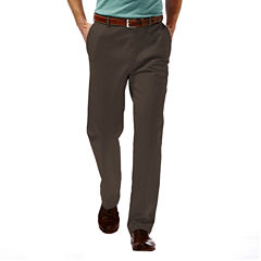 Haggar® Work to Weekend® Classic-Fit Flat-Front Denim Pants