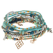 Capelli Of N.Y. Capelli Womens Stretch Bracelet