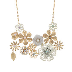 Capelli Of N.Y. Capelli Clear Statement Necklace