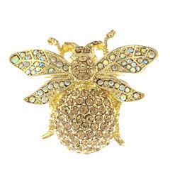 Monet Jewelry Brown Pin