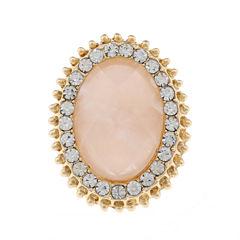Monet Jewelry Womens Pink Ring
