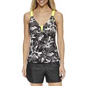 ZeroXposur® Floral Tankini Swimsuit Top or Swim Shorts