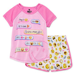 2-pc. Shorts Pajama Set Girls