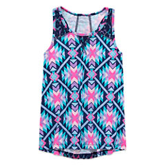 Arizona Crochet Inset Tank Top - Girls' Plus