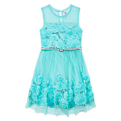 Knit Works Sleeveless Fit & Flare Dress - Big Kid Girls