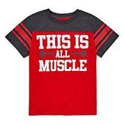 Okie Dokie Boys Football T-Shirt - Preschool 4-7