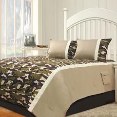 Riverbrook Home Camo 2-pc. Midweight Comforter Set