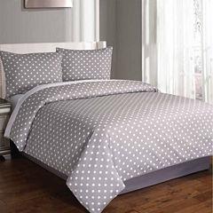 Riverbrook Home Dotty 3-pc. Midweight Comforter Set