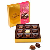 Godiva 9 Piece Valentine Chocolates Gift Box