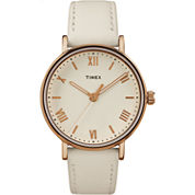 Timex Southview Womens White Strap Watch-Tw2r283009j