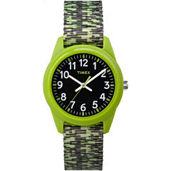 Timex Boys Green Strap Watch-Tw7c119009j