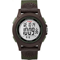 Timex Expedition Full Core Mens Green Strap Watch-Tw4b100009j