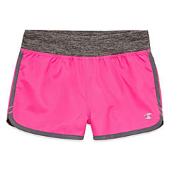 Champion Solid Running Shorts - Preschool Girls
