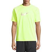 Nike Solid Heather Short Sleeve Tee