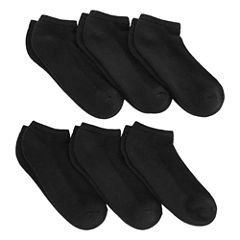 Xersion™ 6-pk. Real Heel Low-Cut Socks