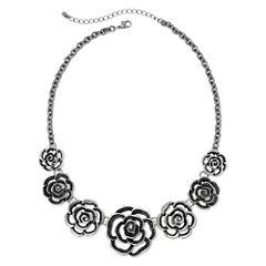 Arizona Open Flower Statement Necklace