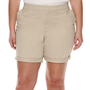 Stylus™ Twill Bermuda Shorts - Plus