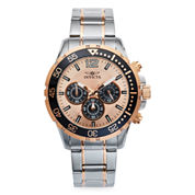 Invicta Mens Rose Goldtone Bracelet Watch-16289