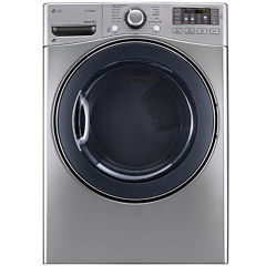 LG 7.4 cu. Ft. Ultra Large Capacity SteamDryer™ with NFC Tag On Technolog