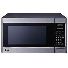 LG 1.1 Cu. Ft. 1000-Watt Countertop Microwave with EasyClean®