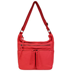St. John's Bay Multi Pocket Hobo Bag